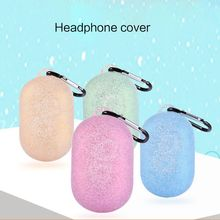 Waterproof Silicone Wireless Bluetooth Earphone Case Protective Cover for Samsung Gear Icon X 2018 Protective Skin Accessories