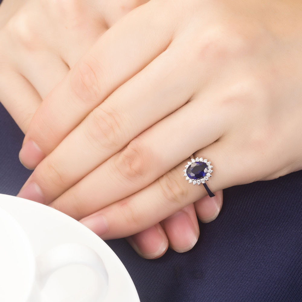 carat photo ring to sapphire enlarge estate baguette diamond and click