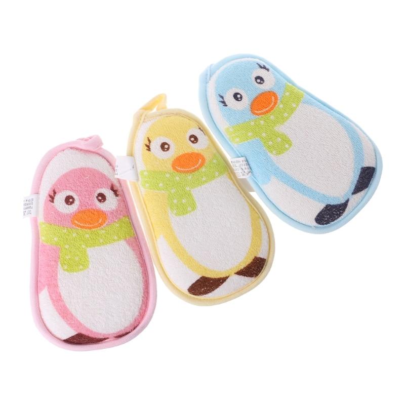 Top Quality Baby Shower Sponge Brushes Bathtub Scrubber Bath Rub Body Cute Newborn Wash Soft