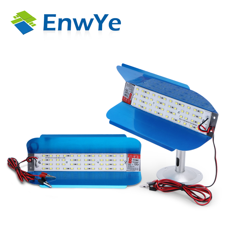 EnwYe LED IODE TUNGSTÈNE 50 w Projecteur D'inondation Lumière 12 v LED Spotlight Refletor LED Éclairage Extérieur Gargen Lampe date