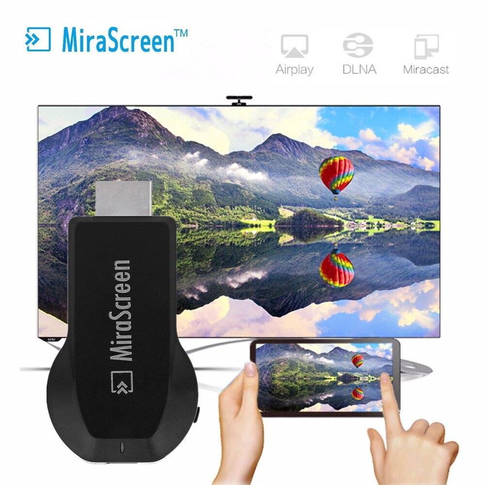 MiraScreen OTA TV Bâton Dongle TOP 1 Chromecast Wi-Fi Affichage Récepteur DLNA Airplay Miracast Airmirroring Google Chromecast