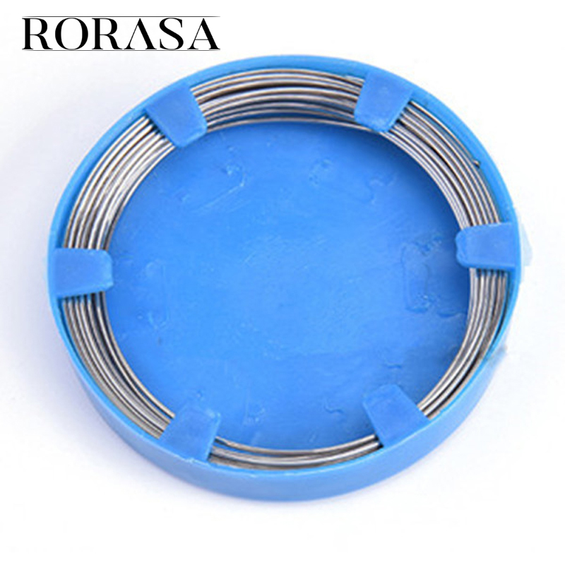 50g Dental Stainless Steel Wire 0.5 / 0.6 / 0.7 / 0.8 Mm For Orthodontic Teeth Surgical Instruments