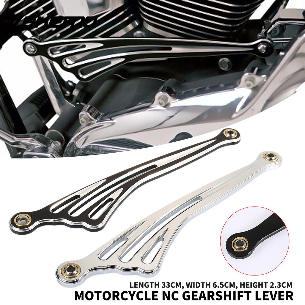 Bkack Chrome Wing Variable Speed Shift Linkage Premium Motorcycle Part Suspension Lever Superb Decoration Clutch
