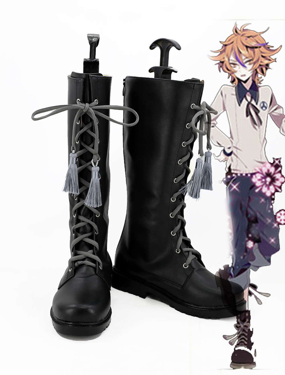 Touken Ranbu Online Gotou Toushirou Cosplay Boots Shoes Custom Made