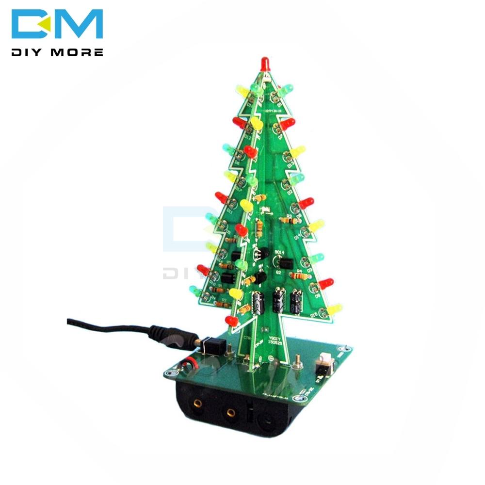 electronic practice parts flash kit flashing christmas tree parts