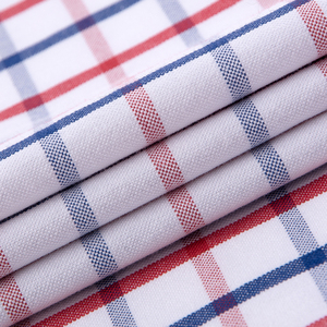 Image 5 - 남성 캐주얼 두꺼운 옥스포드 코튼 체크 무늬 스트라이프 셔츠 싱글 패치 포켓 긴 소매 표준 맞춤 버튼 다운 체크 무늬 셔츠