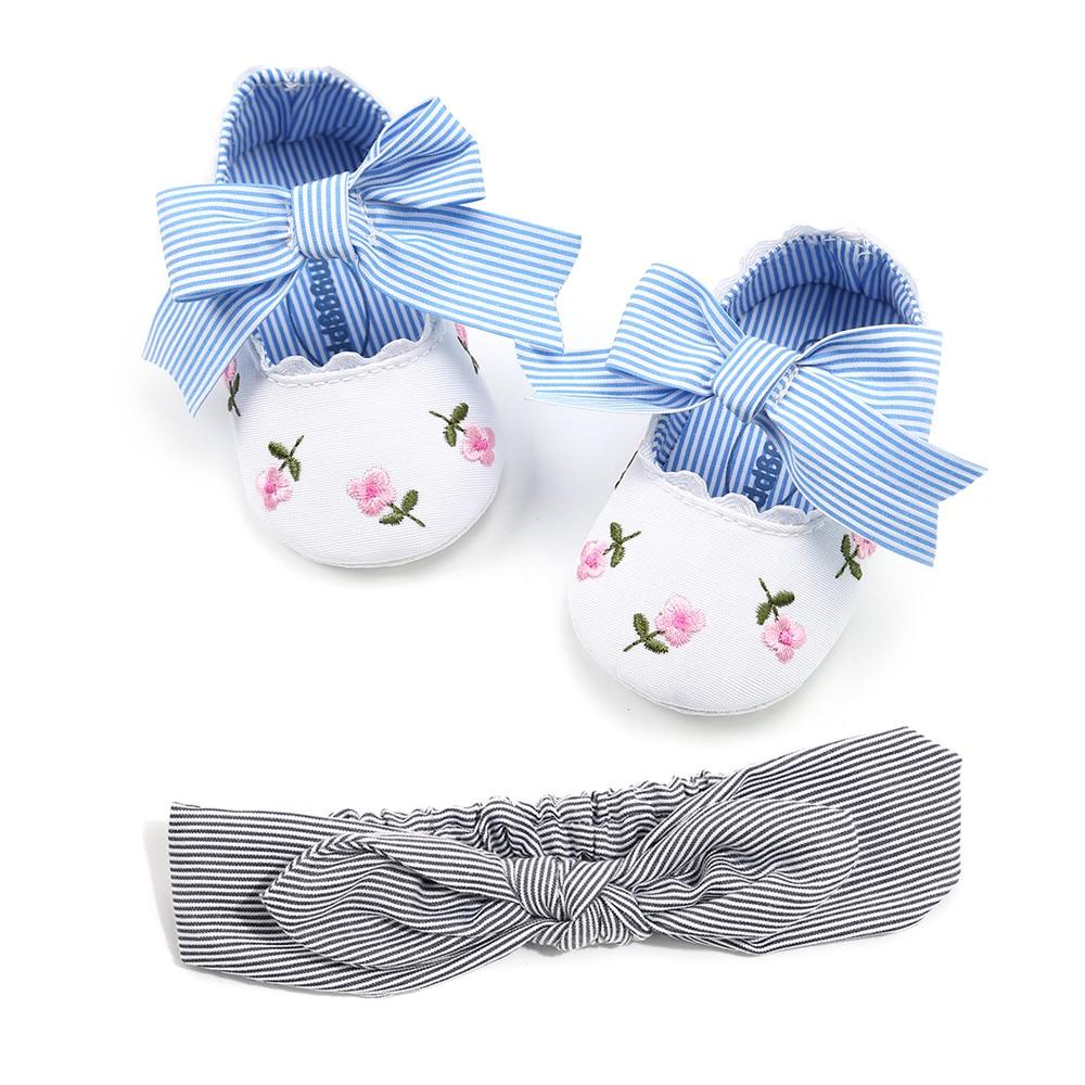 2018 nieuwe lente herfst baby casual schoenen voor meisje gestreepte - Baby schoentjes - Foto 2
