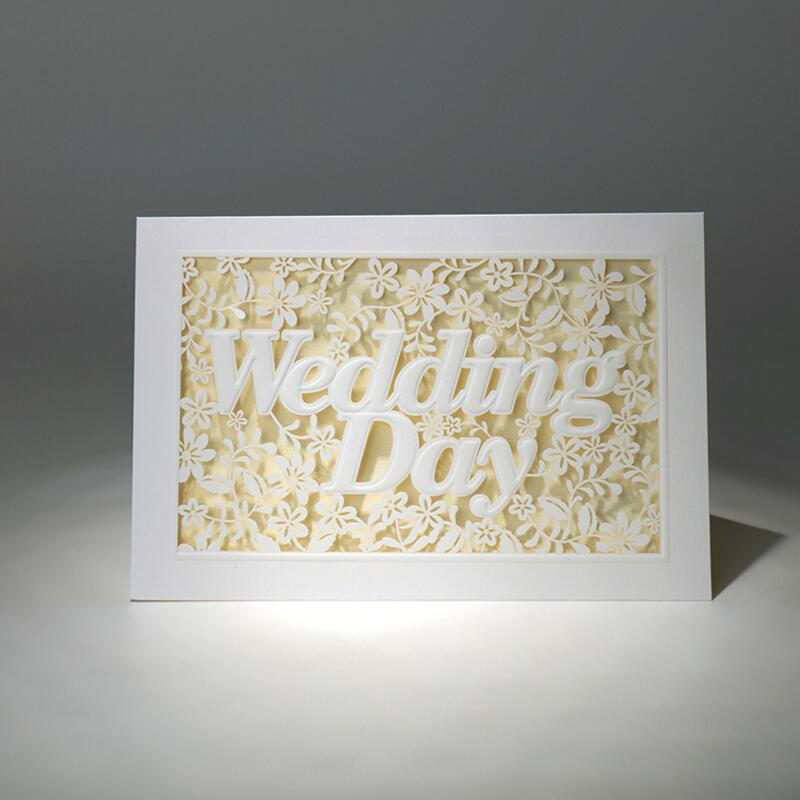 50pcs/pack Wedding Day Laser Cut Flowers Wedding Invitations Cards Elegant Invitations Cards Blank Inside Page Casamento 12pcs design elegant flowers lace laser cut white invitations cards for wedding print blank paper invitation card kit convite