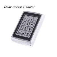 Tür Spiegel RFID Reader & Tastatur Tür Zugangskontrolle Wasserdichten Metall Tastatur Fall