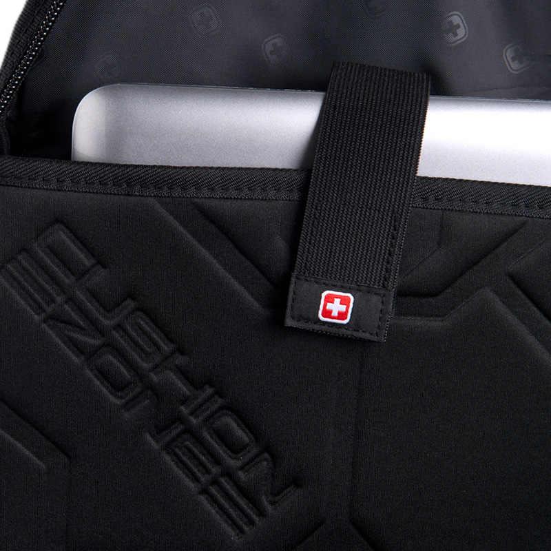 """Горячая Распродажа армейский 15,6 """"рюкзак для ноутбука мужской рюкзак многофункциональная школьная сумка для подростков мальчиков sac dos рюкзак мужской SW8114"""