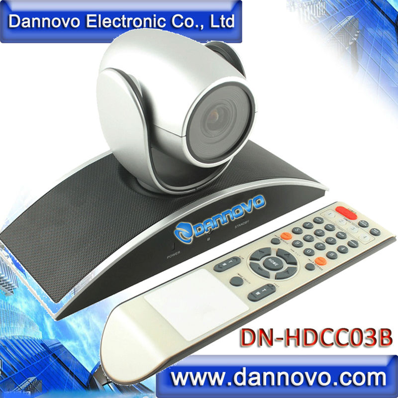 DANNOVO Wide Angle HD USB PTZ Webconferencing Camera,3x Optical Zoom(DN-HDCC03B)