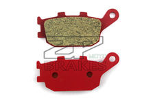 Motorcycle parts Ceramic Brake Pads Fit YAMAHA YZF 1000 R1 (6 piston) 2007-2014 FZ6R 600 2012 Rear Red Composite Free shipping