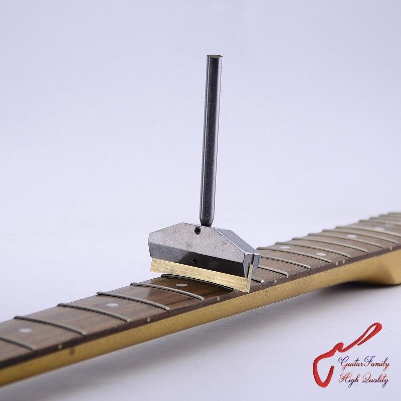 Guitarra familia diapasón prensa Caul con inserto de latón para guitarra bajo