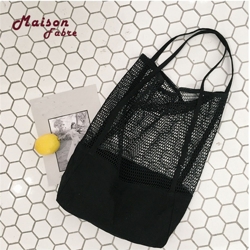 hb@fashion-girls-causal-shopping-handbag-shoulder-mesh-shopper-beach-bag