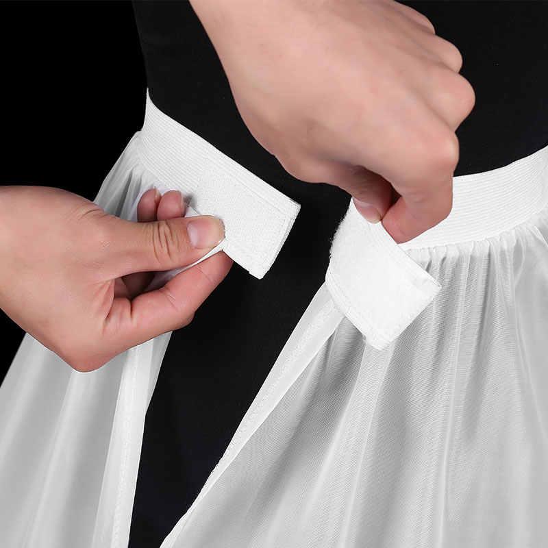 Mujer blanco 2 aros A-line accesorios De boda Vestidos De Novia Crinolines De Novia Underskirt Bustle Petticots