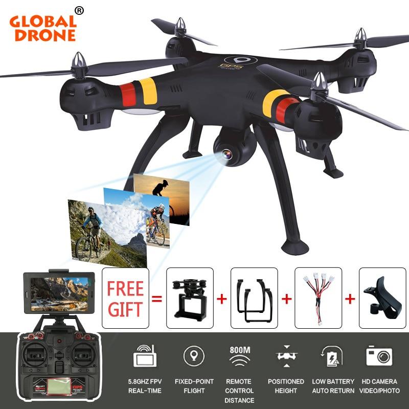где купить Global Drone X188 RC Quadrocopter 5.8G Wifi FPV Real-time GPS Drone With 4K Action Camera HD Altitude Hold Headless Mode по лучшей цене