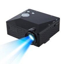 LCD LED Proyector Mini Proyector LED 500 Lúmenes HDMI VGA AV USB SD Multimedia Home Theatre jan16 Portátil de alta calidad