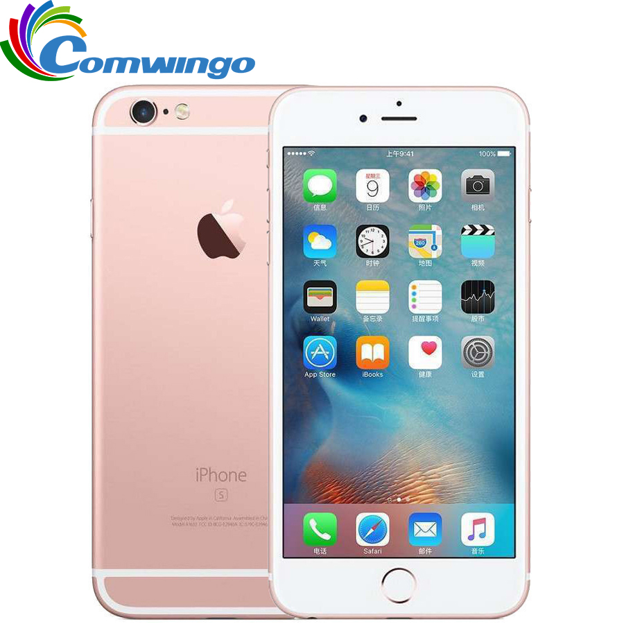 Unlocked Original Apple iPhone 6S Dual Core 2GB RAM 16/64/128GB ROM 4.7'' 12.0MP Camera A9 IOS 9 Used iphone6s 4G LTE cell phone