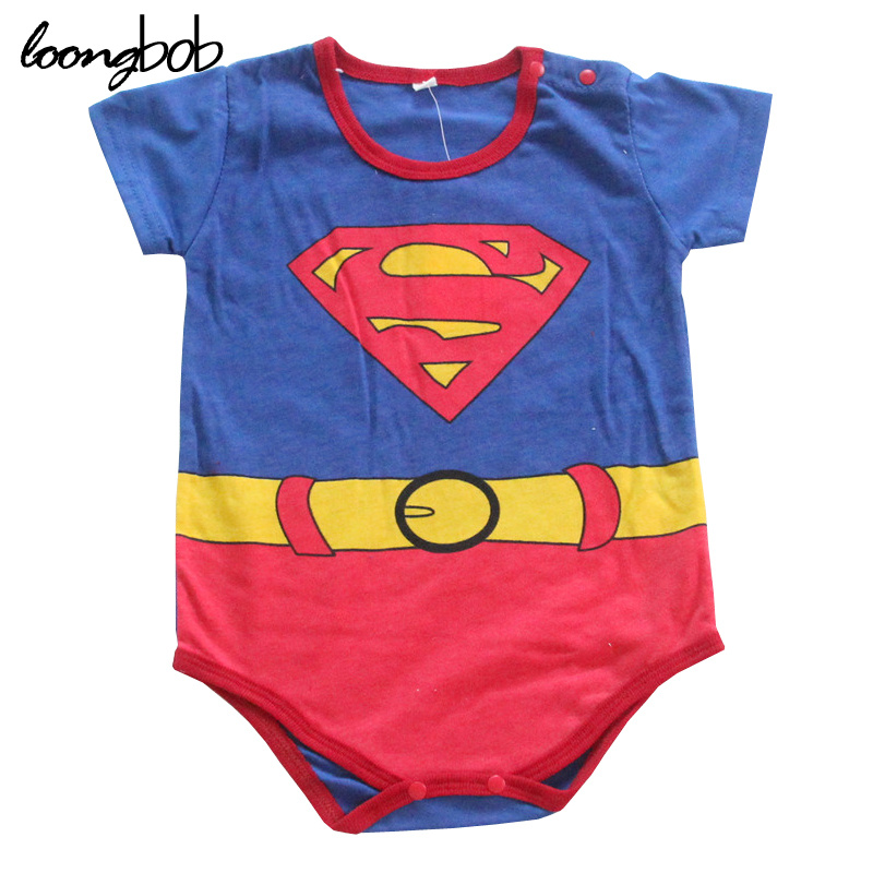 Baby Boy bodysuits Cartoon Costume One Piece Suit Newborn Clothes Summer Short Sleeve Pajamas Photo Props Cute Infant Outfits