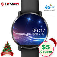 LEMFO LEMX Smart Watch Android 7.1 LTE 4G Sim WIFI 2.03 Inch 8MP Camera GPS Heart Rate Christmas Gifts Smartwatch for Men Women