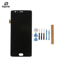 Hacrin For Oneplus 3T LCD Display Touch Screen 1920X1080 HD Tools Glass Panel Accessories Replacement For
