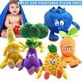 1 pçs frutas legumes macio brinquedo de pelúcia boneca de pelúcia bonito presente para crianças crianças YH-17