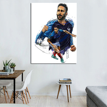 France Football Star Adil Rami Wallpaper Canvas Painting Print Living Room Home Decoration Modern Wall Art Sport Poster Pictures