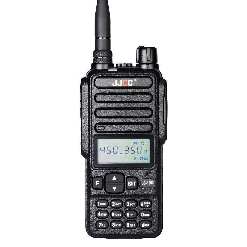 100 Original JJCC JC 1200 Walkie Talkie Portable IP66 Waterproof Amateur Radio Uhf Woki Toki Hunting