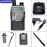 מכשיר הקשר מכשיר הקשר Baofeng UV5RE Dual Band UV5RE CB רדיו 128CH VOX פלדה מעטפת Ham Radio משדר מקצועיות לציד רדיו (4)
