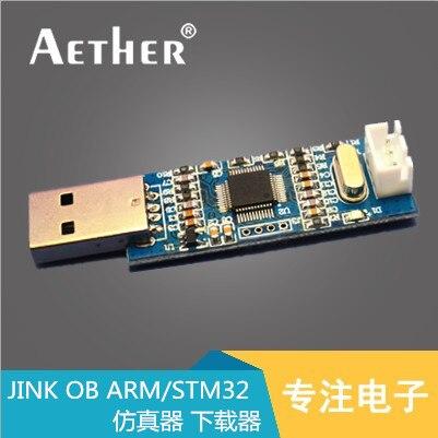 J-Lien OB BRAS/STM32 Débogueur Émulateur Programmeur Downloader JLINK Au Lieu de V8 SWD