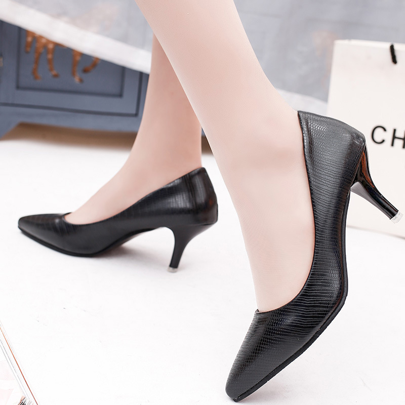 2019 Super High Women Shoes Pointed Toe Pumps Patent Leather Dress High Heels Boat Wedding Shoes Zapatos Mujer Serpentine #6698