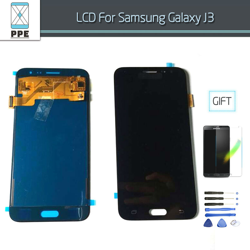 Samsung Galaxy J3 j320 LCD Display J320A J320F J320M Touch screen with digitizer Assembly black
