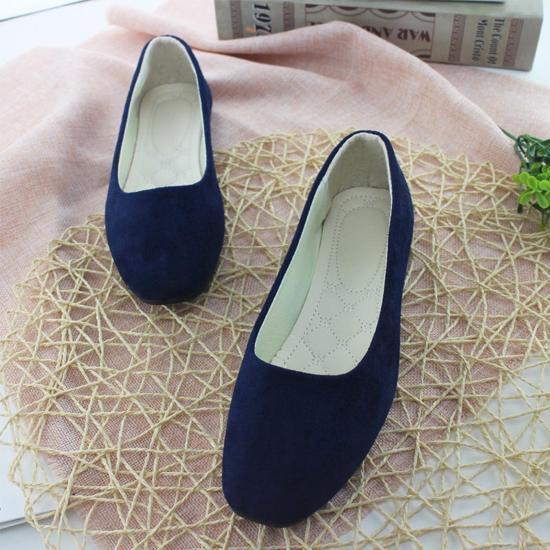 Plus Size 35-43 Women Flats shoes 2019 Spring Loafers Candy Color Slip on Sneakers Ballet Flats Ladies Shoes zapatos mujer blackPlus Size 35-43 Women Flats shoes 2019 Spring Loafers Candy Color Slip on Sneakers Ballet Flats Ladies Shoes zapatos mujer black
