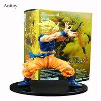Anime Dragon Ball Z Son Goku Super Saiyan PVC Action Figure Collectible Model Toy 17CM