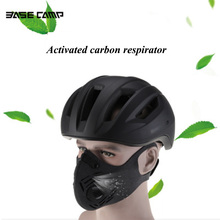 Men/Women Activated Carbon Dust-proof Cycling Face Mask Anti-Pollution Bicycle Bike Outdoor Training Mask Face Shield недорого