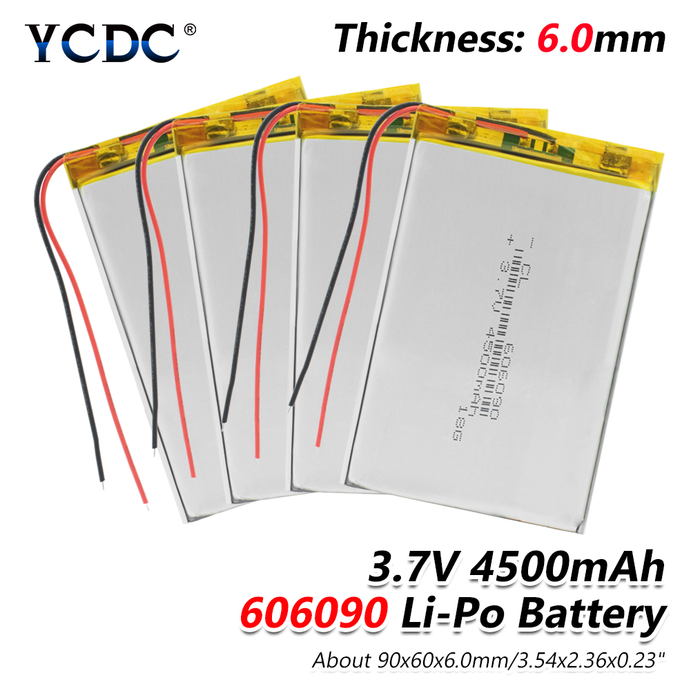 Lithium-Battery Power-Bank Mid-Camera Polymer Li-Ion 4500mah With PCB For GPS Tablet