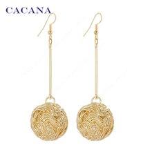 CACANA  Dangle Long Earrings For Women Bijouterie Hot Sale No.A451 A452