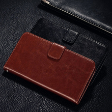 QIJUN Brand For Xiaomi Redmi 4X 4x Case Luxury PU Leather Retro Wallet Flip Stand Phone Bag protective Shell Cover