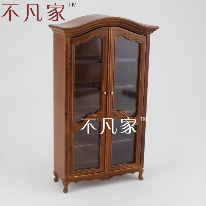 1/12 Scale Doll House For Micro Mini Ature Mini Furniture Window Cabinet