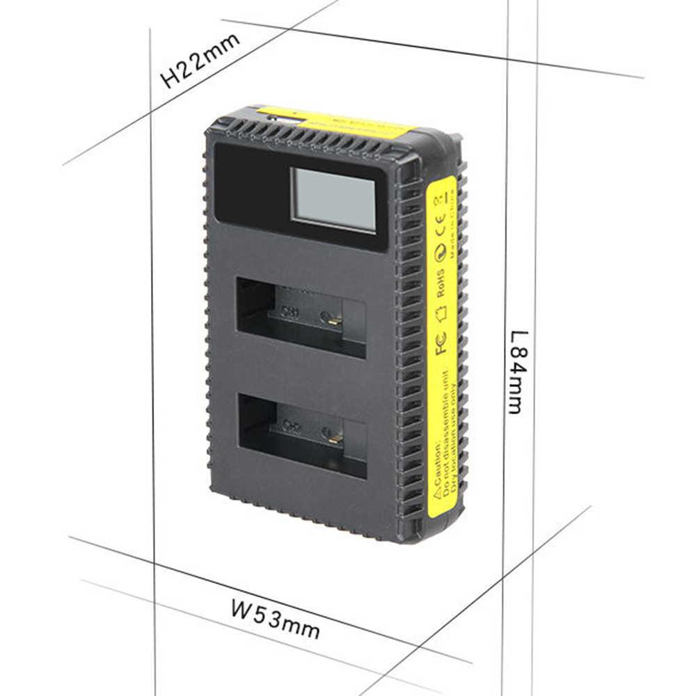 Dvisi 3x1250 مللي أمبير gopro هيرو 5 بطارية AHDBT-501 AHDBT501 + led usb المزدوج شاحن ميناء ل gopro 5 Hero5 عمل ahdbt 501 4 كيلو كاميرا