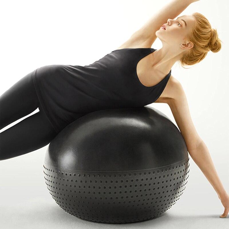 Xiaomi 65 cm Double-face Anti-Explosion Yoga Balle Masseur Fitness Gym Se Détendre Balance Ball Sport Exercice Santé soins Outils