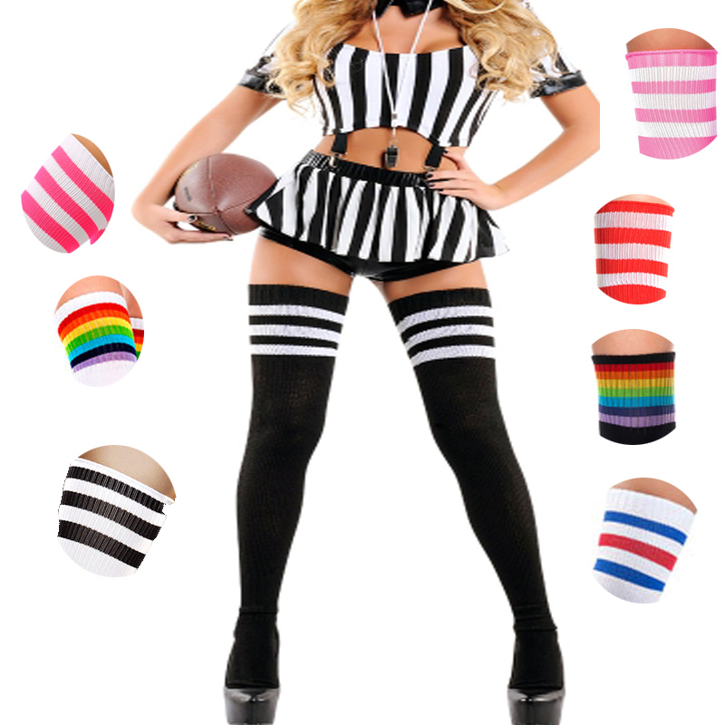 Sexy Women Girl Thigh High Over The Knee Socks Cotton