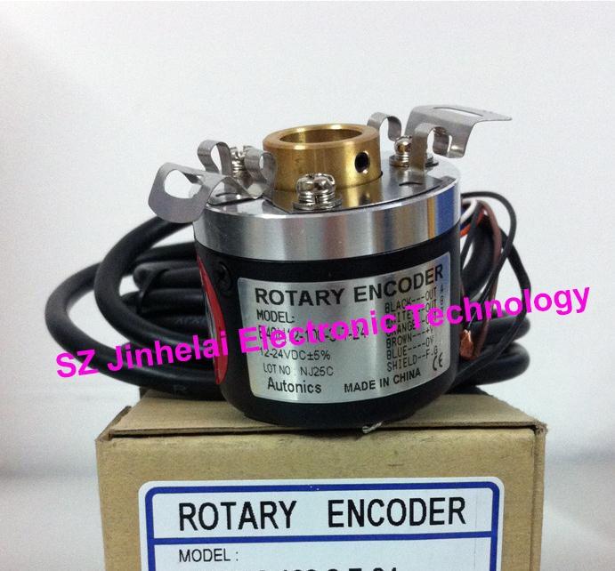 E40H10-600-3-T-24 New and original AUTONICS ENCODER 12-24VDC new and original e6b2 cwz6c 2000p r omron rotary encoder 5 24vdc