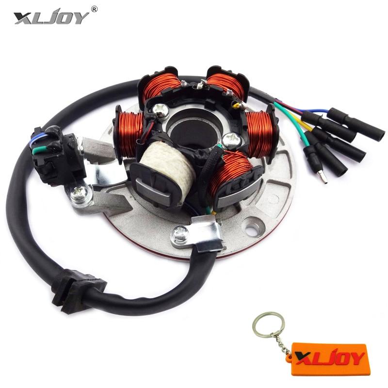 Магнитный статор YX140, светильник для YX 140cc Pit Dirt Bike PitsterPro Stomp Thumpstar SDG Apollo SSR YCF Atomik IMR