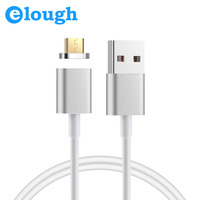 Elough 2 4A Magnetic Charger Microusb Magnet Cable For Xiaomi LG Android 1M Mobile Phone Magnet