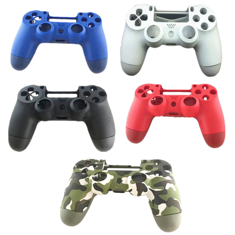 Green Camouflage Black Front Back Housing Controller Shell Case Cover Skin for Sony PS4 DualShock 4 Pro 4.0 Controller JDM-040