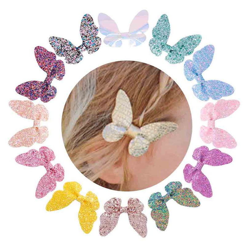 1079d689e2 Fastest shipping baby hair accessories butterflys in Hairs Style 2019