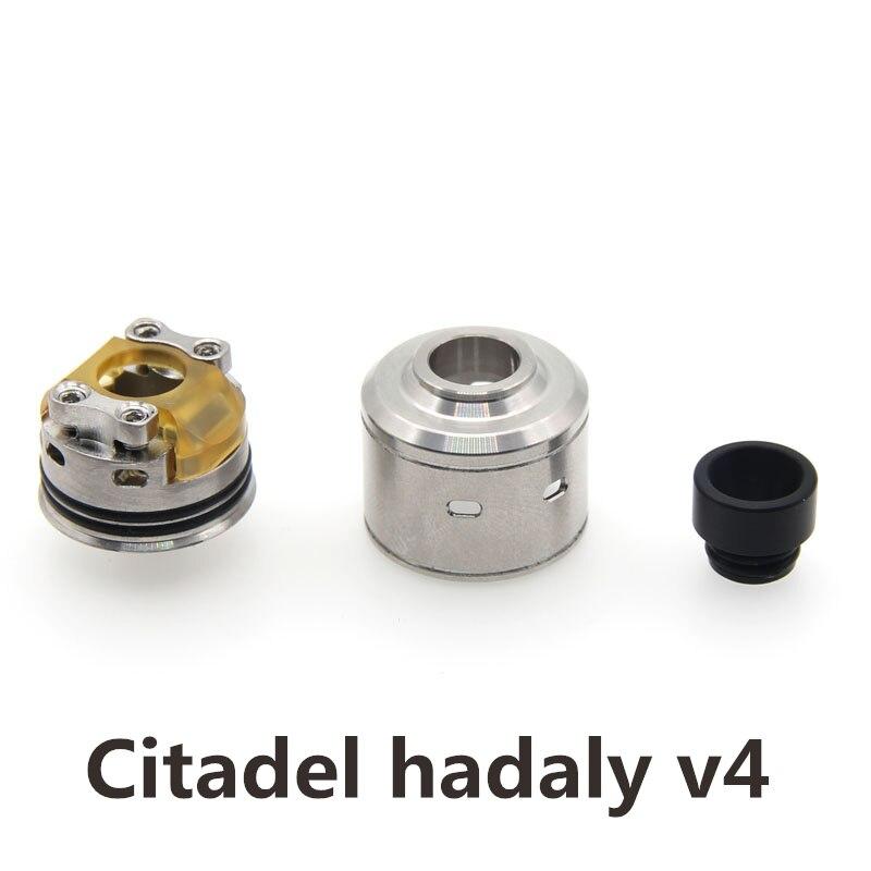 SXK Cittadella 22mm RDA Serbatoio Reubuildable Atomizzatore per Mech Box Meccanica Mod Vape Kit Vaporizzatore Sigaretta Elettronica Atomizzatori