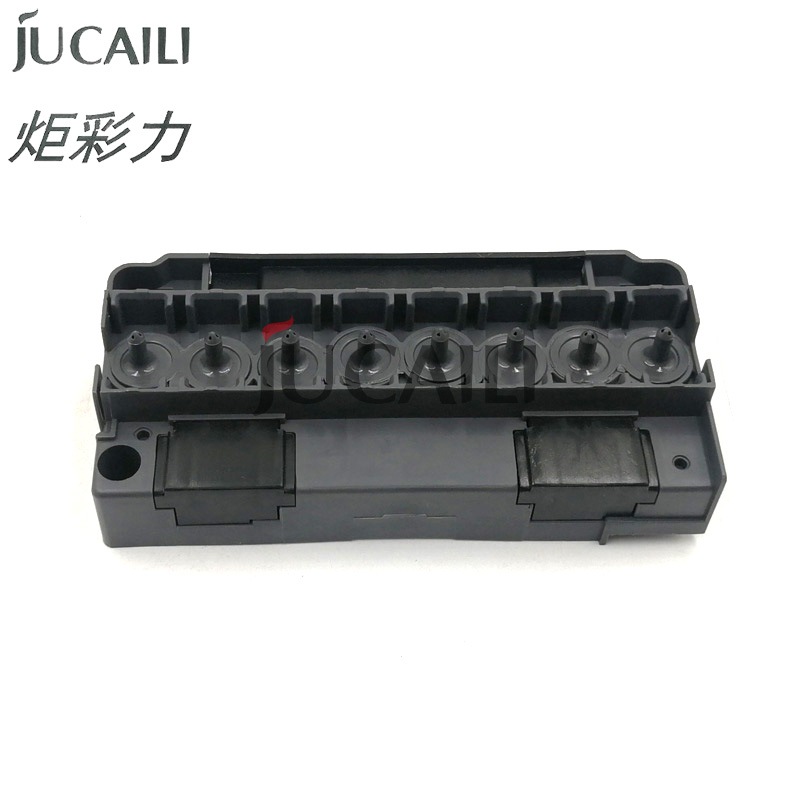 Jucaili DX5 printhead solvent manifold plotter printer DX5 solvent adapter F186000 DX5 printhead cover
