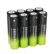 18650 5800 ma 18650 high-capacity rechargeable lithium-ion batteries lithium battery 3.7 v lithium battery стоимость